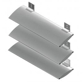 ALIPLAST alumínium homlokzati árnyékoló