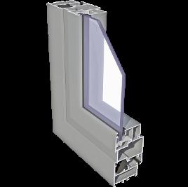 ALIPLAST ECONOLINE alumínium nyílászáró