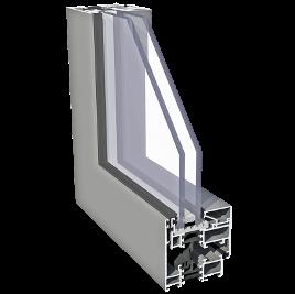 ALIPLAST IMPERIAL SU alumínium nyílászáró