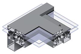 ALIPLAST MC-RW alumínium tetőbevilágító