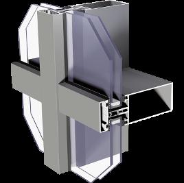 ALIPLAST MC Wall alumínium függönyfal