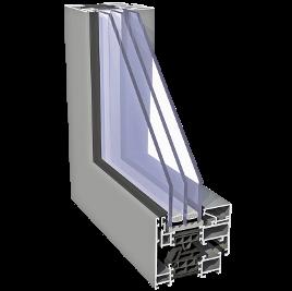 ALIPLAST SUPERIAL SU i alumínium nyílászárórendszer