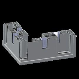 ALIPLAST ULTRAGLIDE alumínium tolóajtó sarokrendszer