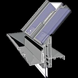 ALIPLAST VICTORIAN Plus alumínium télikert tetőrendszer